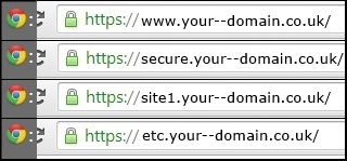 Wildcard SSL Certificates گواهی دیجیتال